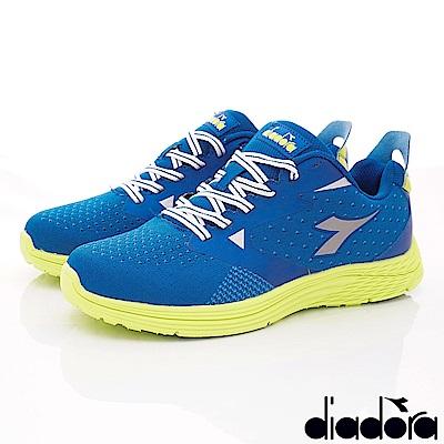 DIADORA-PU能量健走鞋款 SI596藍(男段)