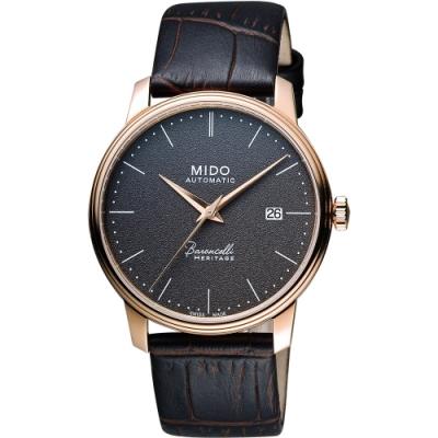 MIDO Baroncelli III Heritage 復刻經典機械腕錶-41mm M0274073608000