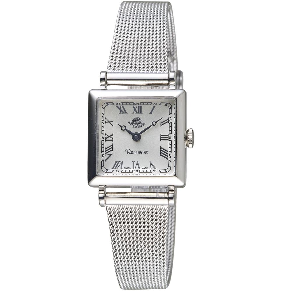 玫瑰錶Rosemont韓劇她的私生活朴敏英同款錶(TNS011-SWR-MT4)銀