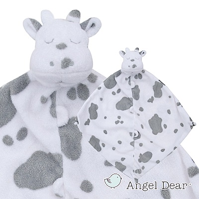 美國 Angel Dear 動物嬰兒安撫巾禮盒版 (小乳牛)