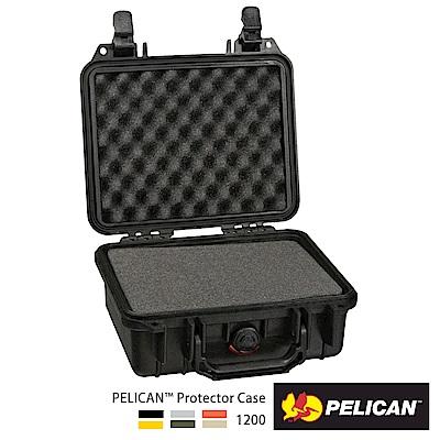 美國 PELICAN 1200 氣密箱-含泡棉(黑)