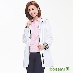 bossini女裝-休閒連帽外套01白