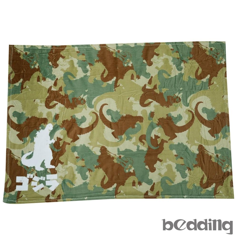 BEDDING-哥吉拉冷氣毯-迷彩-正版授權
