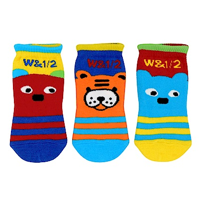 WHY AND 1/2 mini 三件組短襪