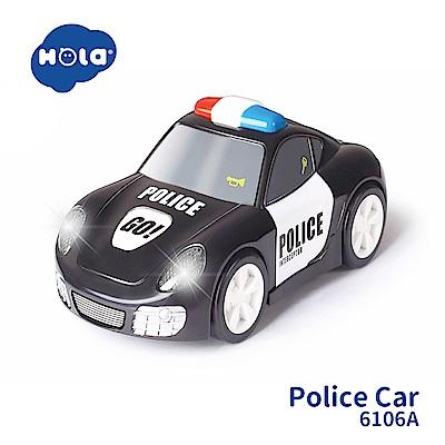 香港HOLA幼兒聲光玩具-神速警車 6106A