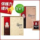 【正官庄】高麗蔘茶(3g*100包/盒)+【正官庄】高麗蔘精茶(50包/盒)