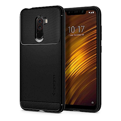 Spigen 小米 POCOPHONE F1 Rugged Armor-軍規防摔保護殼