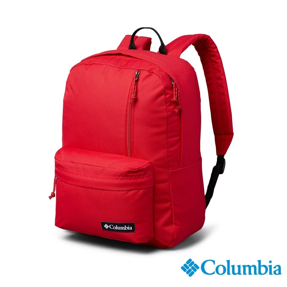 Columbia 哥倫比亞 中性-防潑後背包-紅色 UUU00670RD