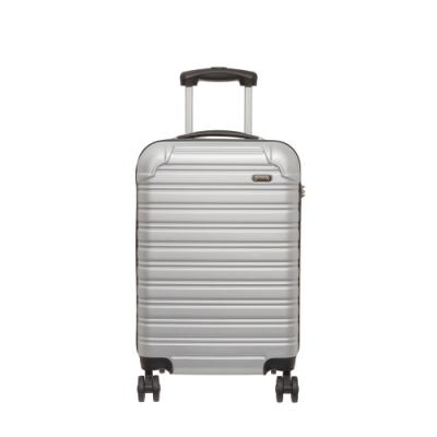 【OUTDOOR】RUSH-20吋拉鍊箱-銀白色 OD1172B20SL