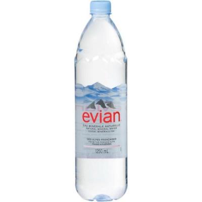 Evian依雲 天然礦泉水(1250ml)
