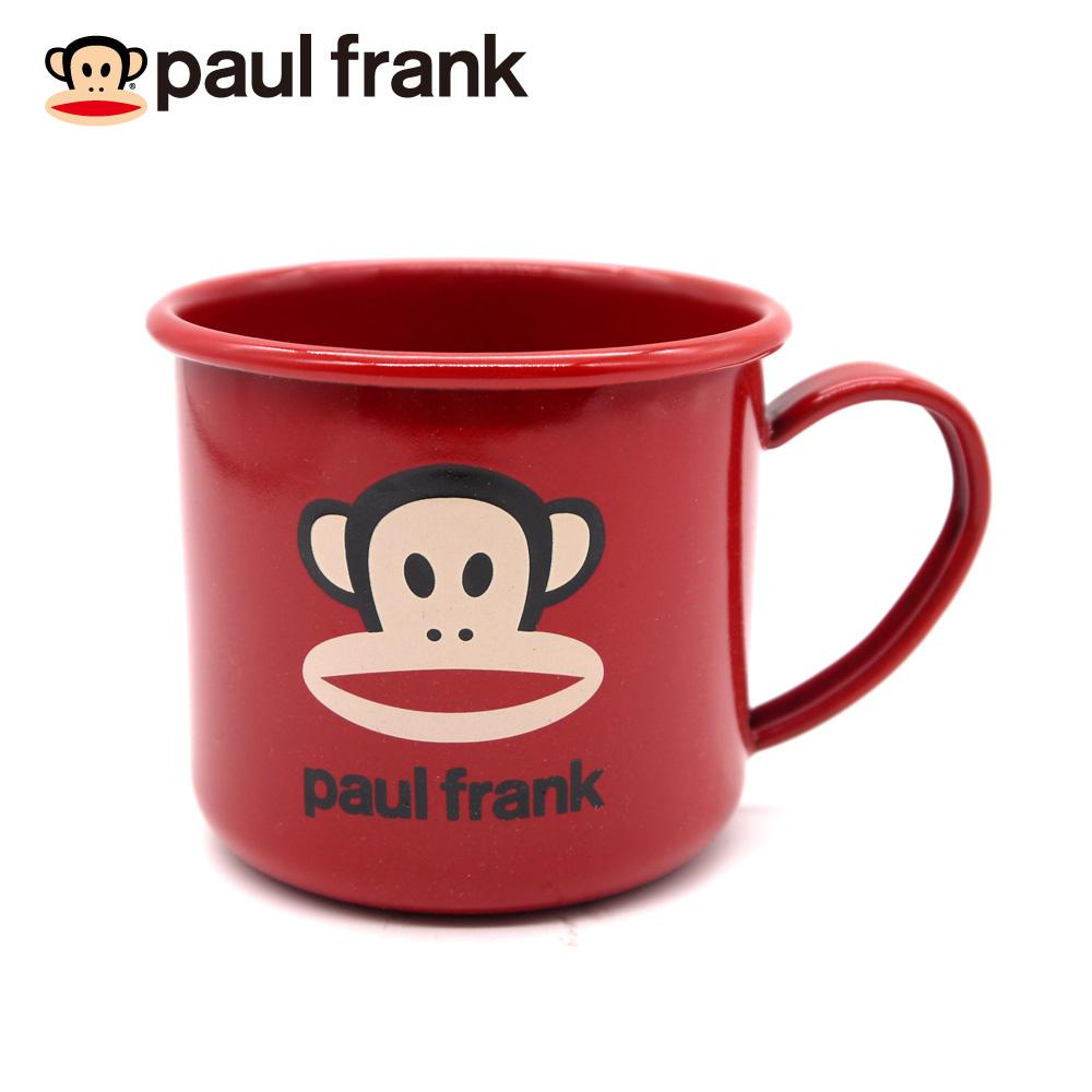 PAUL FRANK 經典紅色琺瑯杯