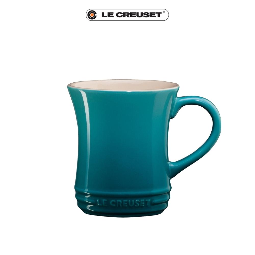 [結帳7折]LE CREUSET瓷器小馬克杯280ML(加勒比海藍)