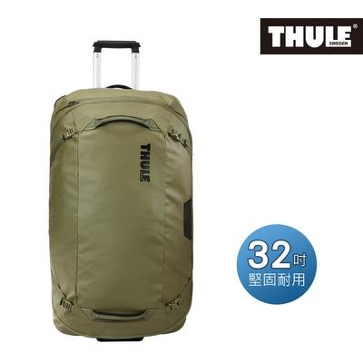 THULE-Chasm 110L 32吋滾輪式行李袋TCWD-132-橄欖綠