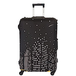 行李箱保護套-城市-M ODS17B02MCT