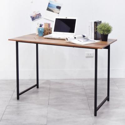 凱堡 木紋風105x55x75cm工作桌電腦桌