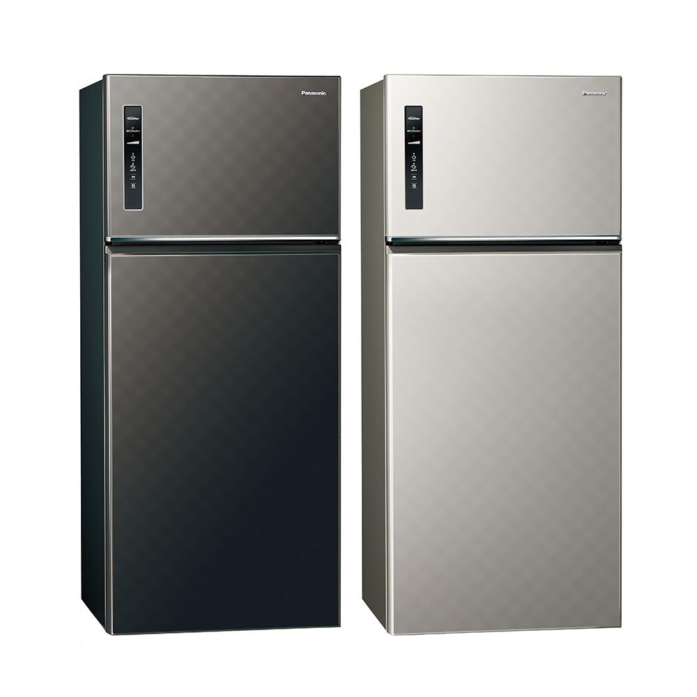 [無卡分期12期]Panasonic國際牌 579L 1級變頻2門電冰箱 NR-B589TV
