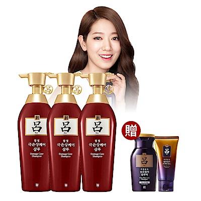 呂Ryo 受損髮適用韓方洗髮精買3送2週慶組