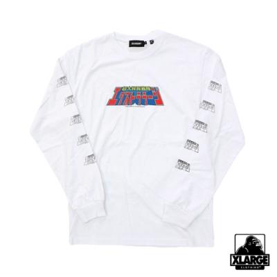 XLARGE L/S TEE XL POWER RANGERS TEE長袖T恤-白