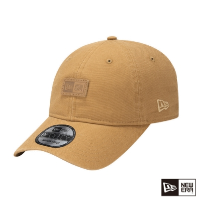 NEW ERA 9FORTY 940UNST 亞麻耐磨布料 NEW ERA 棕褐色 棒球帽