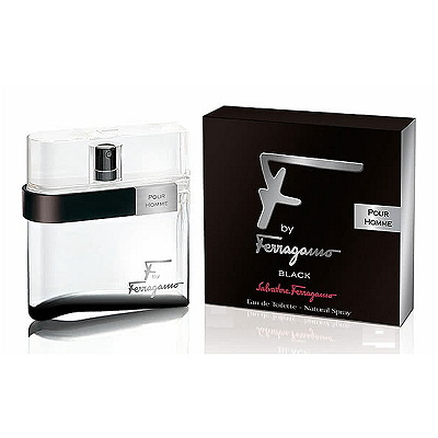 Salvatore Ferragamo Black 夜色男性淡香水 100ml