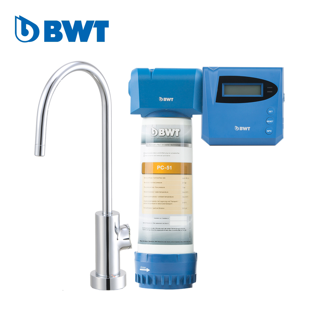 【BWT德國倍世】BWT PURE 1道式 智慧型生飲水設備(PLUS)