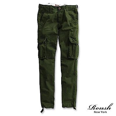 Roush 重度水洗高磅數雙口袋工作長褲(3色)
