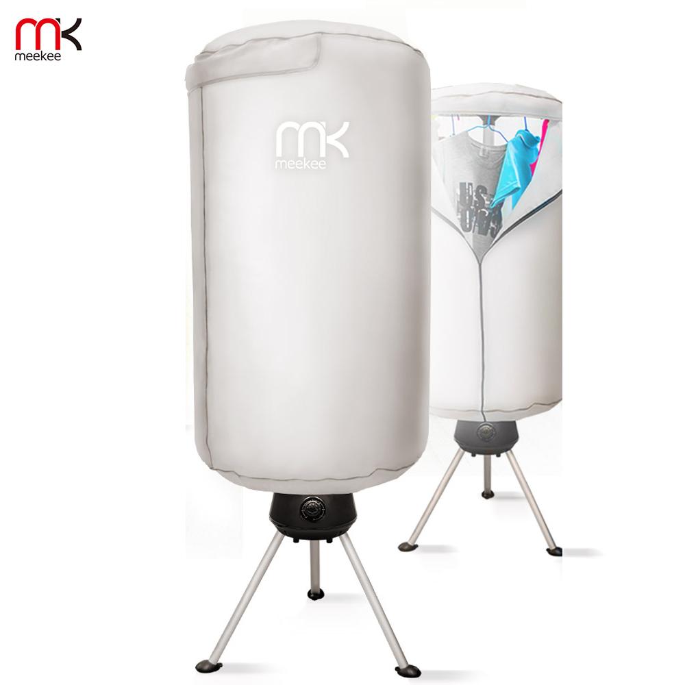 meekee 可收納折疊式─直立烘衣架/烘衣機