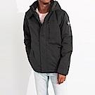 海鷗 Hollister 年度熱銷經典防風防潑水連帽風衣外套-灰色