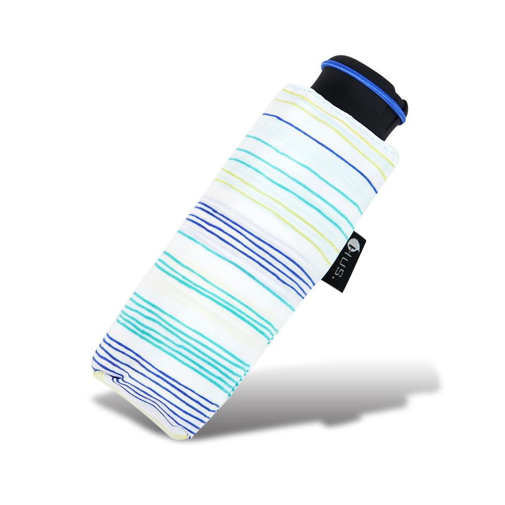 HUS 塗鴉線條抗UV迷你口袋傘