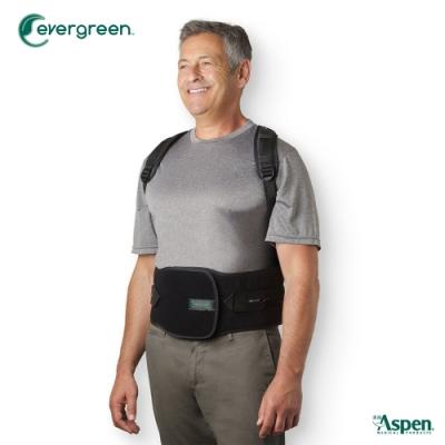 【又強】ASPEN EVERGREEN 456 TLSO背架護腰-黑(耶思本脊椎裝具-未滅菌)
