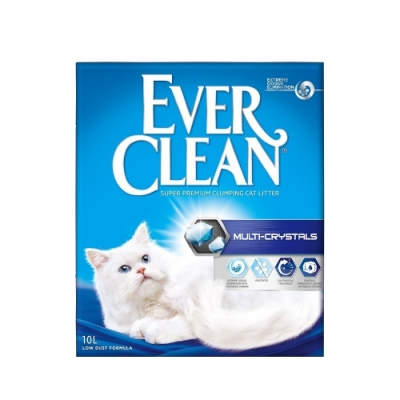 EVER CLEAN藍鑽超凝結貓砂-水晶結塊貓砂 10L/9kg