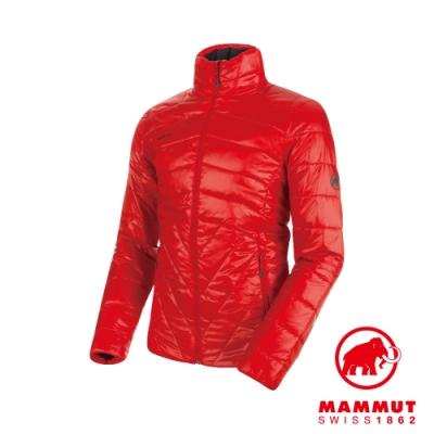 【Mammut 長毛象】Rime IN 立領化纖外套 岩漿紅 男款 #1013-00300