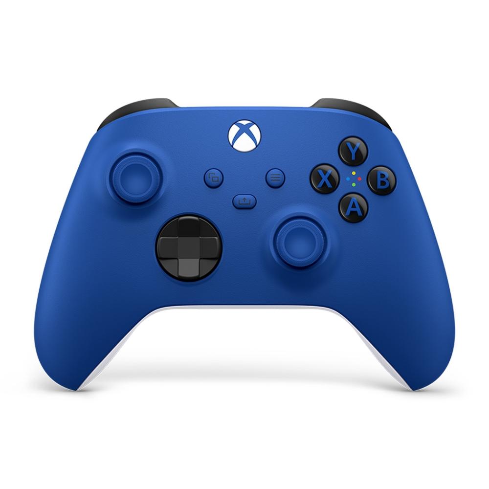微軟Xbox 無線控制器-衝擊藍