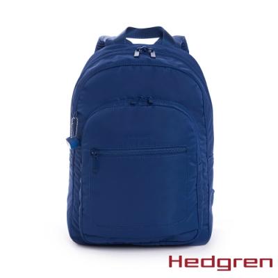【Hedgren】INNER CITY極輕 後背包-寶藍