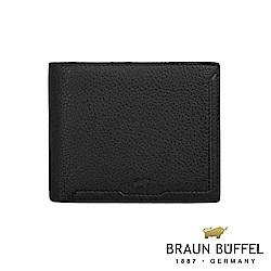 BRAUN BUFFEL - 吉米系列10卡皮夾 - 黑