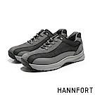 HANNFORT TORNADO透氣編織熔斷氣墊戶外鞋-男-峭壁灰