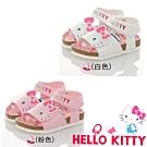 Hello Kitty 45週年限量童鞋 輕量腳床型鞋-白.粉