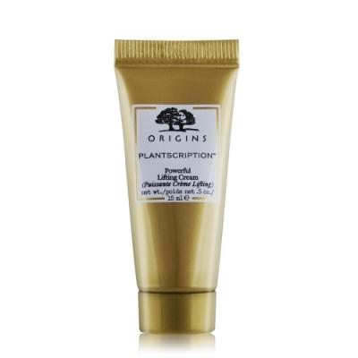 (期效品)ORIGINS 品木宣言 駐顏有樹拉提塑顏霜15ml-期效202010