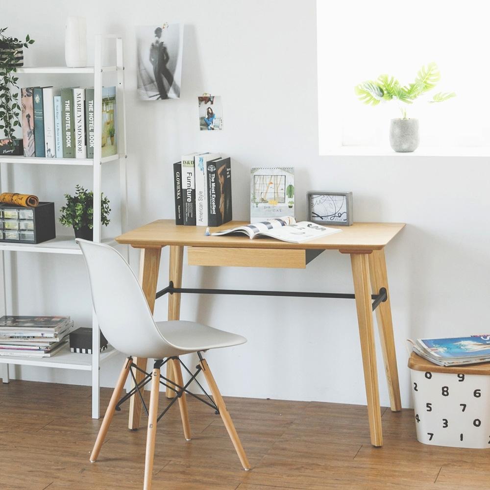 完美主義 經典款木作附抽工作桌/電腦桌/書桌