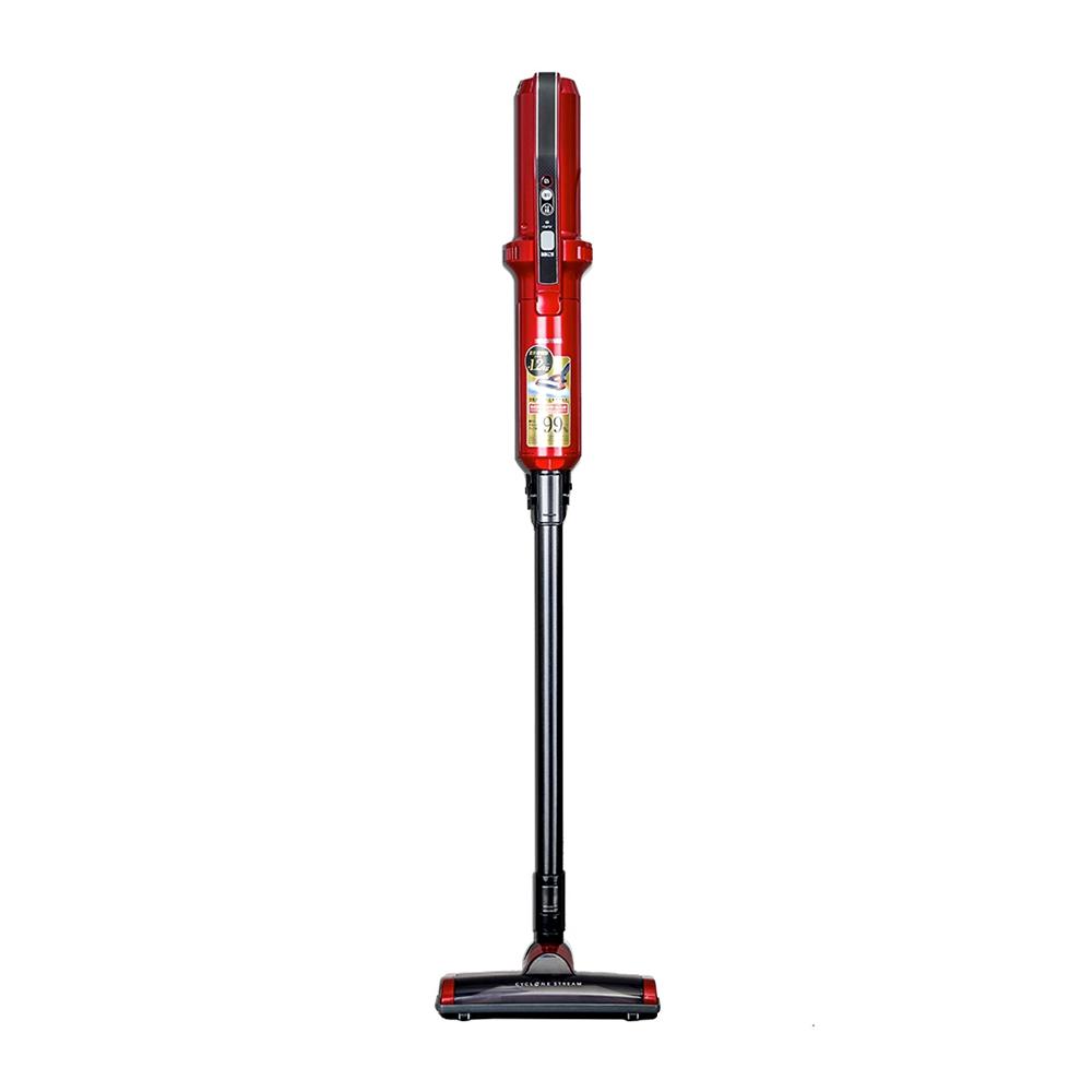 日本IRIS極細輕量無線氣旋吸塵器IC-SLDC4-紅色