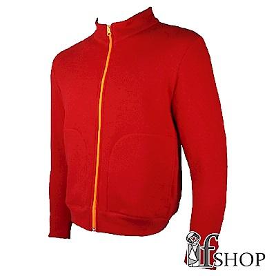 Storm cotton透氣防潑易去污機能刷毛外套(紅色)