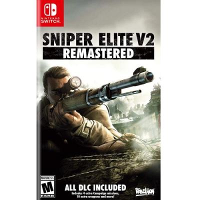 狙擊之神 V2 重製版 Sniper Elite V2- NS Switch 中英日文美版