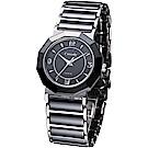 Canody 珍愛時光陶瓷腕錶(CM8810-A)-黑/31mm