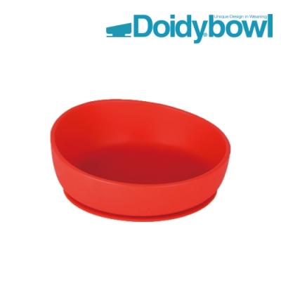 【英國Doidy cup】彩虹學習碗-櫻桃紅(食品級矽膠 吸盤底座)