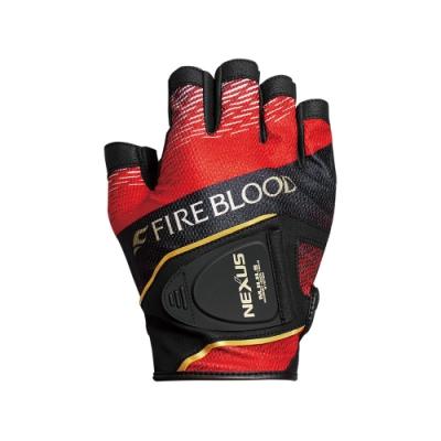 【SHIMANO】 GL-142S NEXUS羊皮印刷手套 5指出