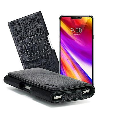 Xmart for iphone XS / X 5.8吋麗緻真皮腰掛皮套