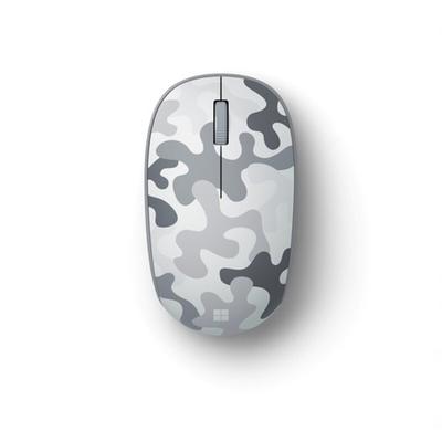微軟精巧藍牙滑鼠-冰川白 (迷彩特別版)