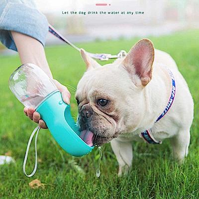 寵物專用外出隨行杯 外出杯 水瓶 水杯 餵食器 一鍵餵水