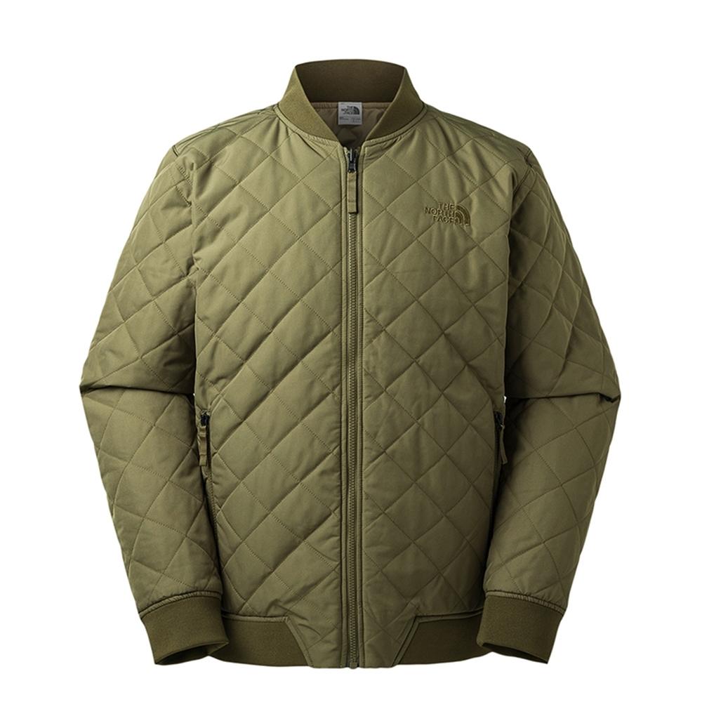The North Face 男 保暖防潑水兩面穿舖棉外套 綠-NF0A3IFUZBK