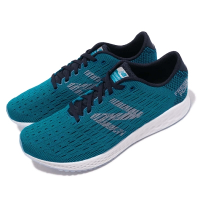New Balance 慢跑鞋 MZANPDO2E 寬楦 運動 男鞋 藍 灰 男鞋 輕量緩震